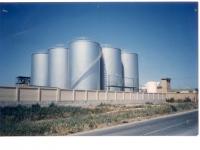 silos de aceite en Brenes
