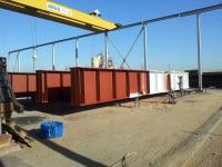 proceso de pintura en estructuras industriales